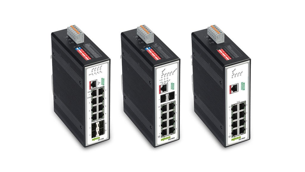 PROFINET Managed Switches for Industrial Automation